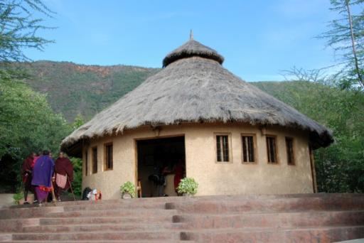 Reception at Masaai Lodge
