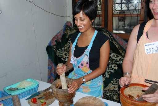 Namita Trying Her Best