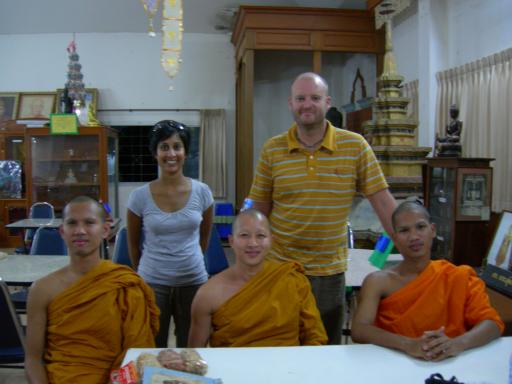Talking with Monks