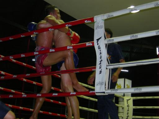 Thai Boxing Match