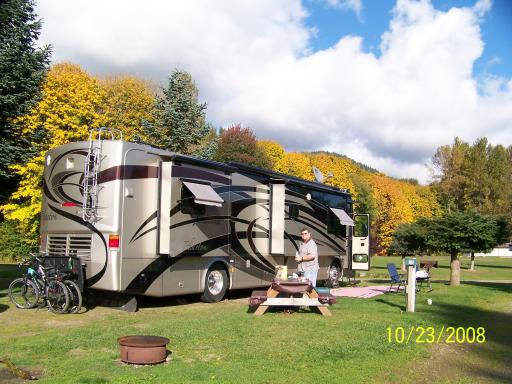 Maple Grove Rv Resort What A View Motorhoming In The Usa