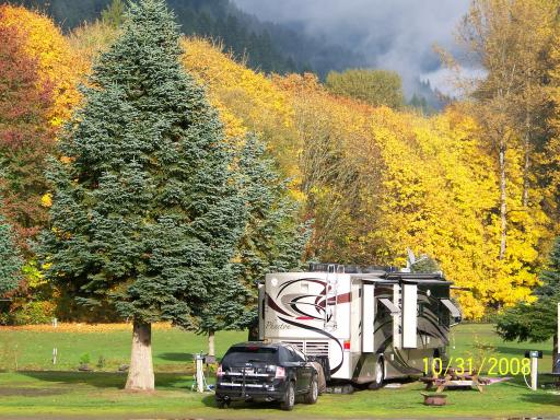 Maple Grove Resort Motorhoming In The Usa
