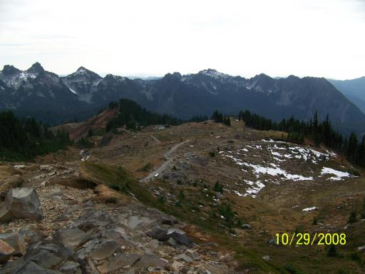 View of Lower Trail From Panorama Point