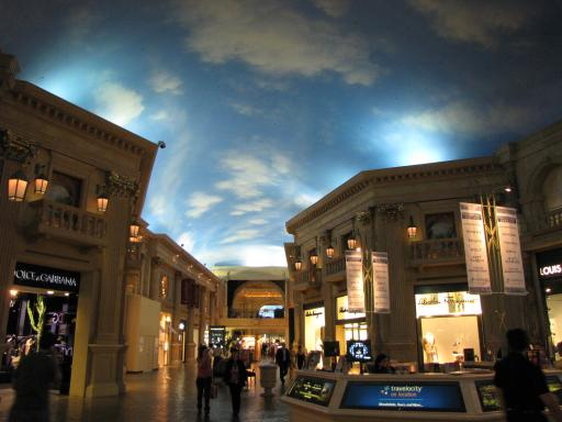 Indoor Mall Caesar S Palace Motorhoming In The Usa