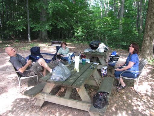 Picnic At Lieber St. Recreation Area