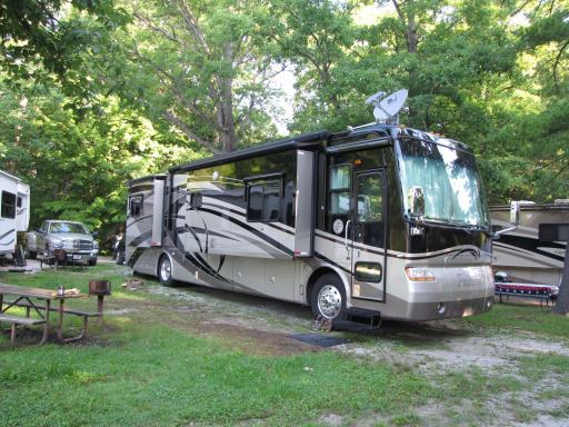 Campsite at Saint Clair