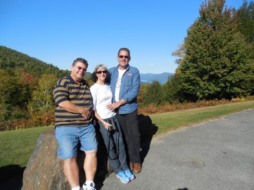 Richie, Mary, & Bill on Prospect Mtn.