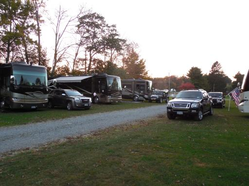 Allegro Rally at Campground