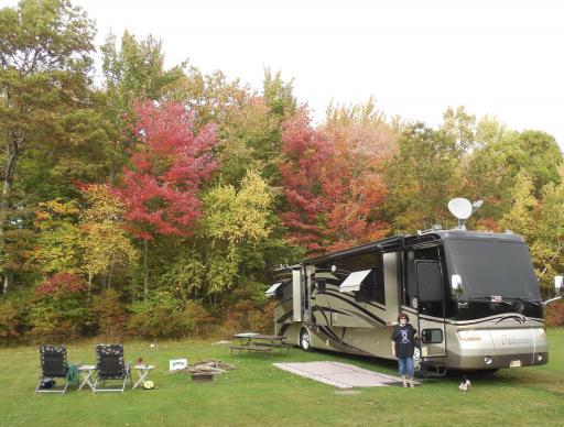 Campsite At Catskill Adventure Resort (ROD)