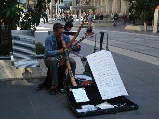 One man band Aussie style