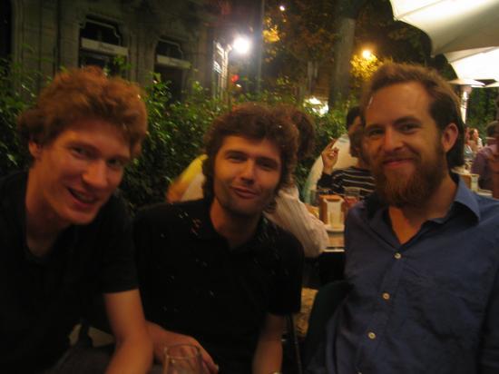 Felix, André, & i