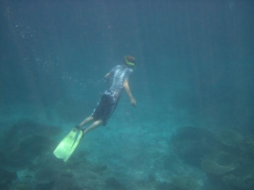 Matt freediving