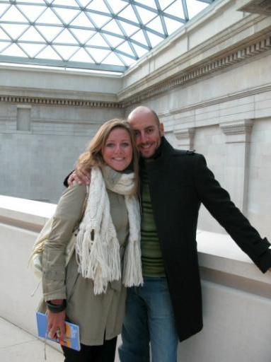 Rugged up at the British Museum