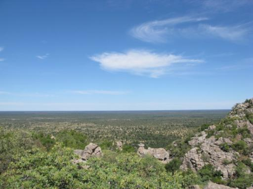 View out from Tsodilo Hills