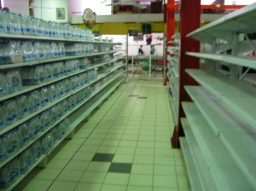 empty supermarket shelves in zimbabwe