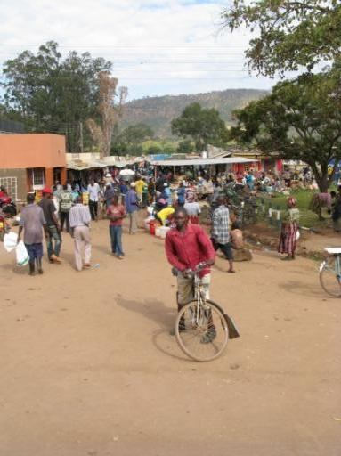 The 'everything market' in Chipata