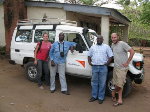 The World Vision 4x4 and Guides