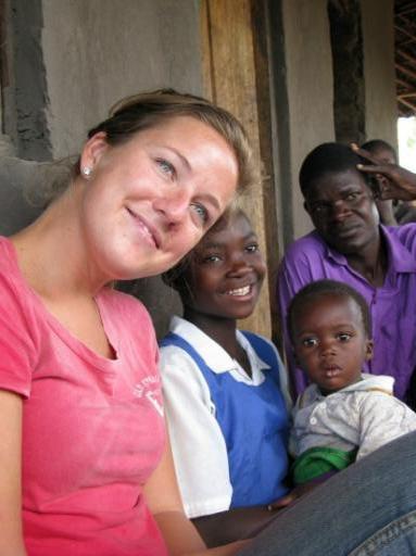 Johanna and Her Sponsor Child Lidia