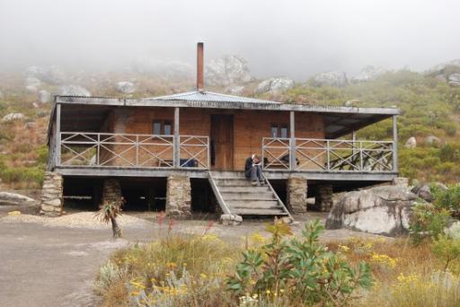 Our Hut on Mount Mulanje