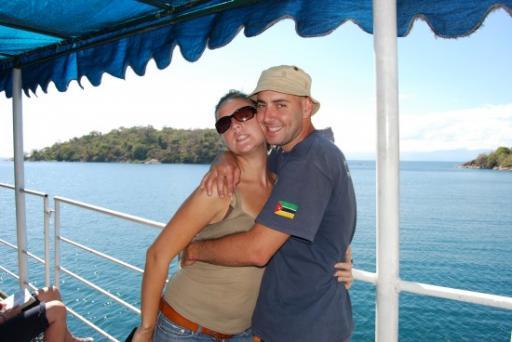 Cruising on Lake Malawi