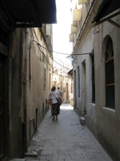 The Narrow Alleys of Stone Town