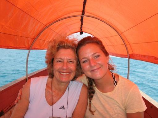 Mum & Johanna Cruising