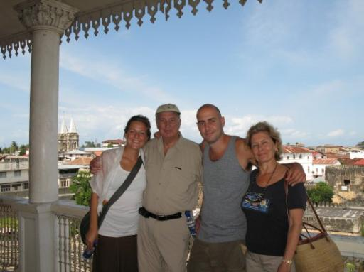 The Fam in Zanzibar