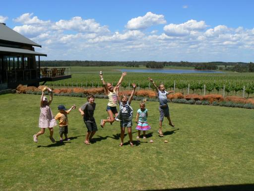 Wine tasting and Kids can mix!