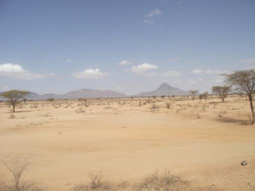 Semi Desert On The Way To Marsabit Joburg To Cairo