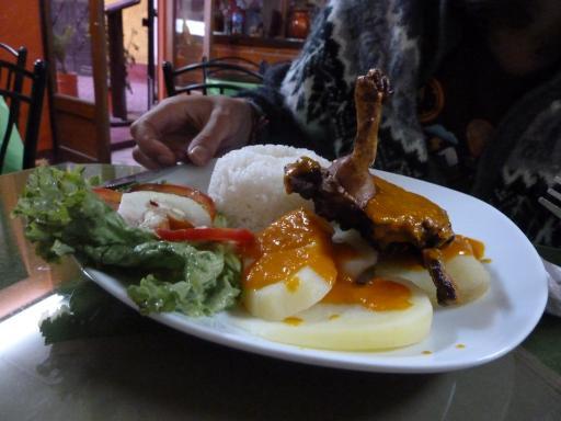 Guinea pig dinner (before)