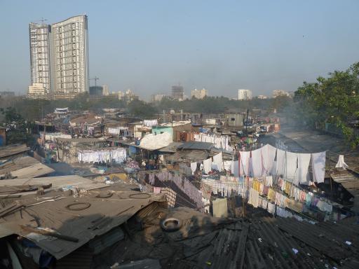 Laundry day at Mahalaxmi Dhobi Ghat