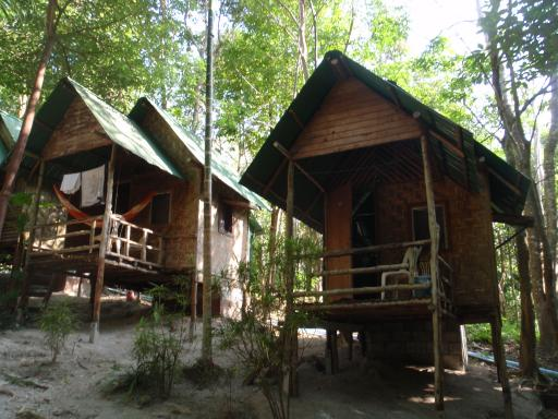 Our jungle hut at Ton Sai