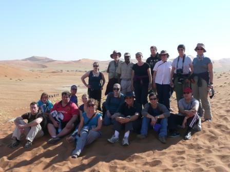 Gecko's gang, Namibia