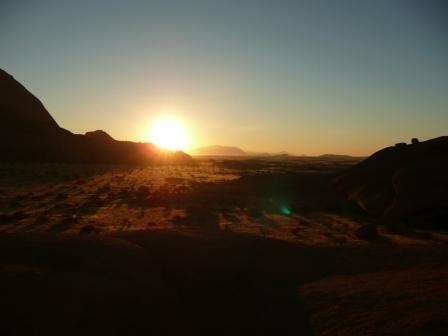 Spitzkoppe sunrise