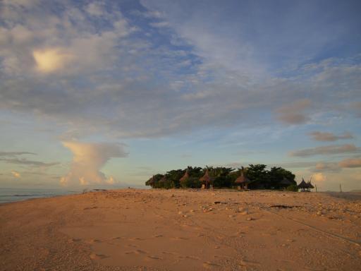 Tsunami Island!! South Sea Island @ Sunset