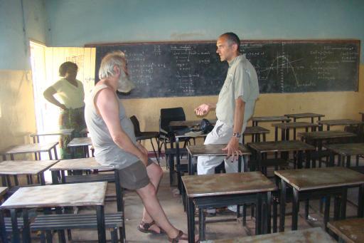Mfuwe basis schoolklas