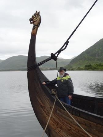 Vikingschip in Borg (Lofoten)