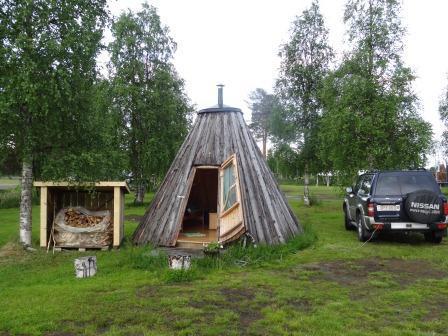 Camping Saiva in Vilhelmina