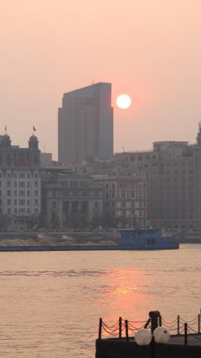 Bund Sunset 1