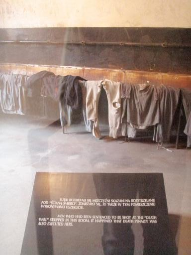 where the men to be executed stripped