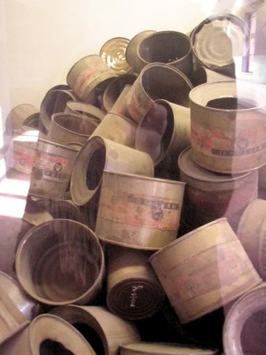 empty gas pellet containers