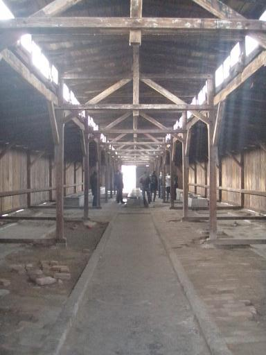 barracks, auschwitz II