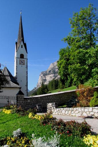 Church in La Villa, Italy