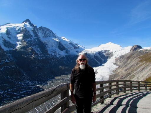 Bill at glacier