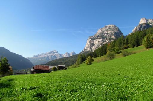 La Villa, Italy landscape