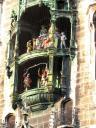 detail of glockenspiel, Munich