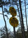 signs along the road
