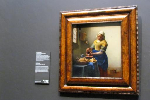The Kitchen Maid by Vermeer