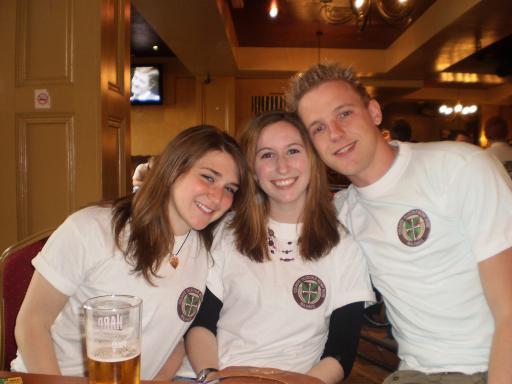 Rachel, Emily and Jos