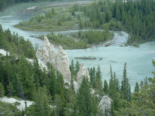 The Hoodoos Watching over Bow River
